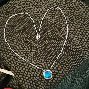 Jewelry - Blue and silver necklace